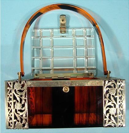 1950's Lucite purse