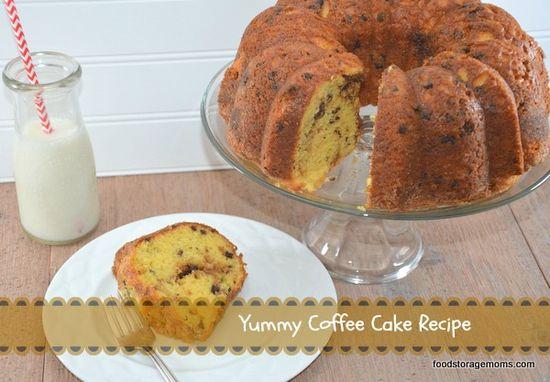 Yummy Coffee Cake Recipe