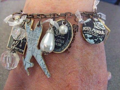 Yours Artfully: Travel Bracelet step by step