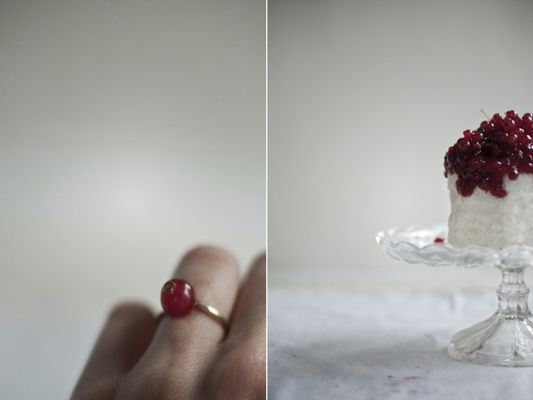 Food Photography and Styling - Red Currants