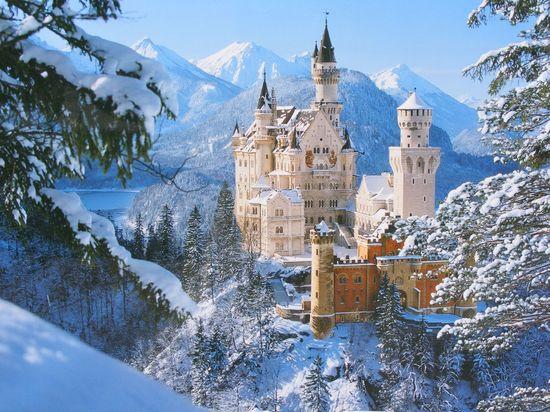 Neuschwanstein Castle, Germany #castle #world #germany