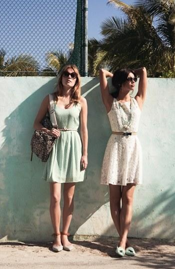 Perfect dresses: Mint, Polka Dots, & Lace
