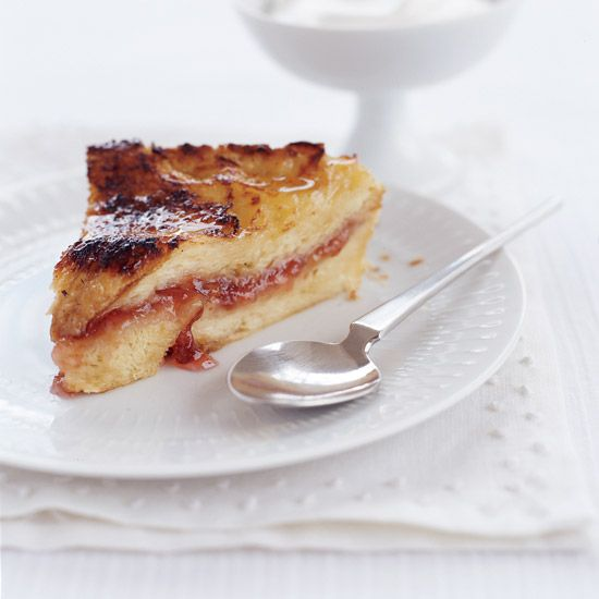 Jam and Bread Pudding // Brunch Ideas: www.foodandwine.c... #foodandwine
