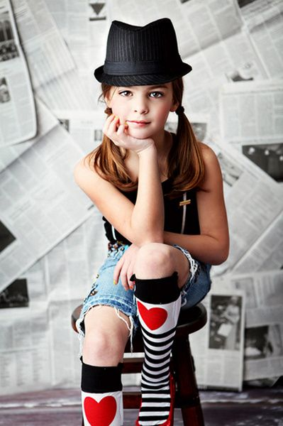 too cute and i love the newspaper in the background!  For Jenavieve when she gets older?