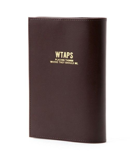 WTAPS×RockSteady×PORTER LEATHER BOOK COVER