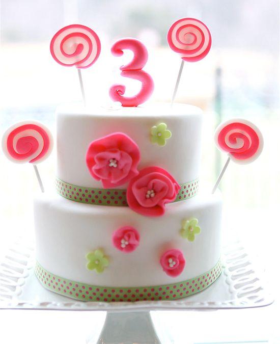 such a cute birthday cake.