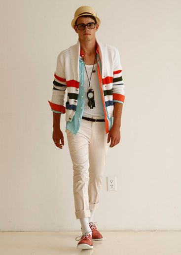 #summer #men's fashion #layers