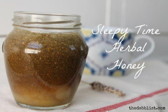 Sleepy Time Herbal Honey - Girl Meets Nourishment