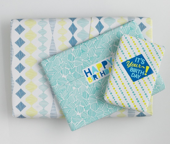 Casual Fridays gift wrap & stickers