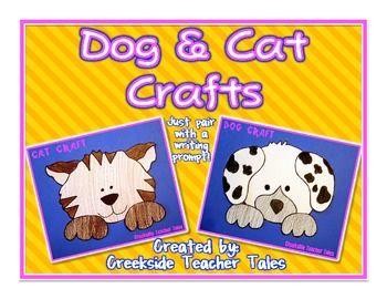 Dog and Cat Craft Templates