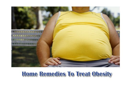 Home Remedies To Treat Obesity Naturally - My Health Tips