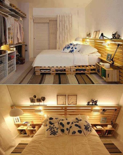 Спалня от палети
