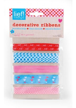 Do it yourself: Decorative ribbons - lief! lifestyle