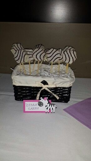 Baby animal baby shower. Zebra cakes