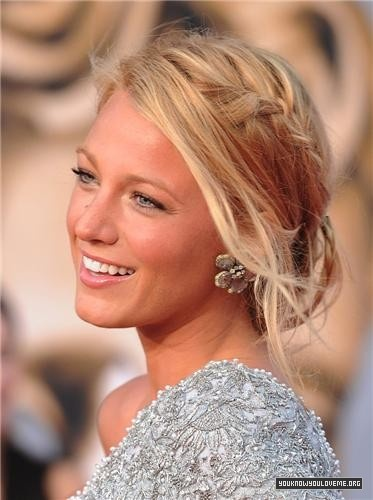 This is an elegant, simple up-do.