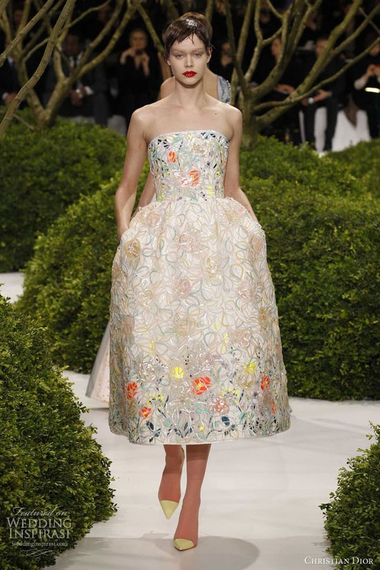 Christian Dior Spring/Summer 2013 Couture