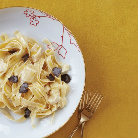 Pasta with Robiola and Truffles // More Fantastic Fast Pastas: www.foodandwine.c... #foodandwine #vday #valentines