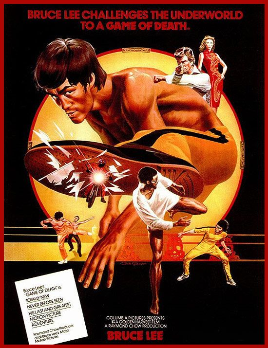 my first martial arts film. bruce lee is badass, the movie...not so much.