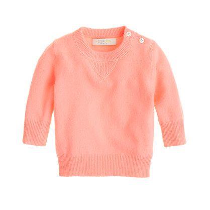 J.Crew Baby Girl Sweater. So cute