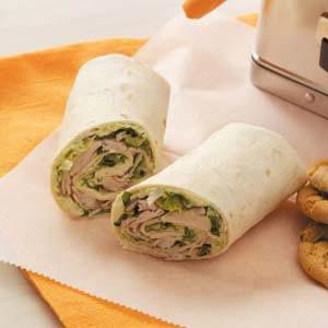Turkey Guacamole Wraps Recipe- We make a similar recipe and its super good