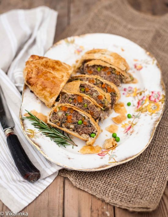 Beef Wellington (The Humble Version) by vikalinka: This tasty dish is a winner with everyone, from young to old. It's beautiful and will make you look like you possess chef-like skills in the kitchen while it's a breeze to make. #Beef_Wellington