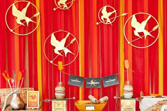 The Hunger Games Theme Party Ideas