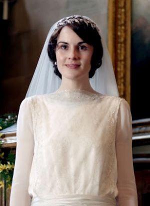 Downton Abbey - www.myLusciousLif... - Mary wedding dress.jpg