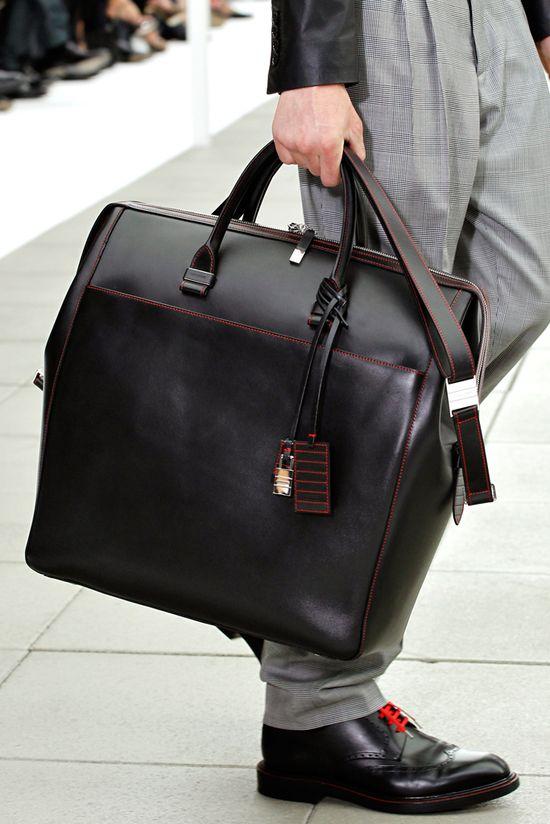 Dior Homme Spring/Summer Men's Bag Collection 2013