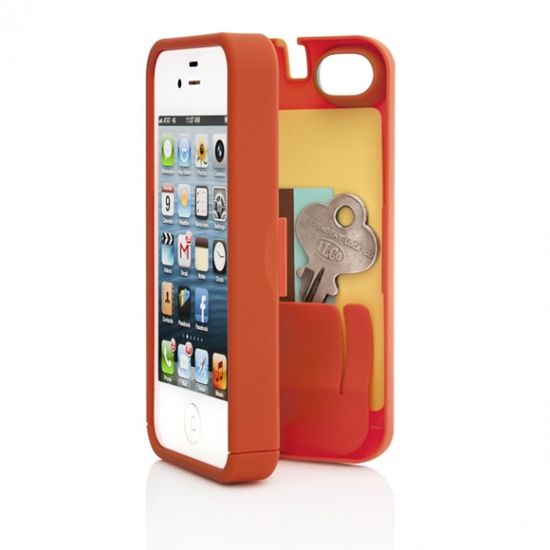 Case for iPhone 4 - Orange