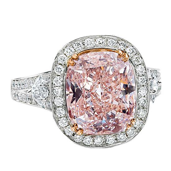 Fancy Pink Diamond Splendor #pink #ring #engagement #diamond #vintage (via @1stdibs)