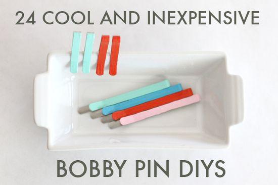 24 Cool And Inexpensive Bobby PinDIYs