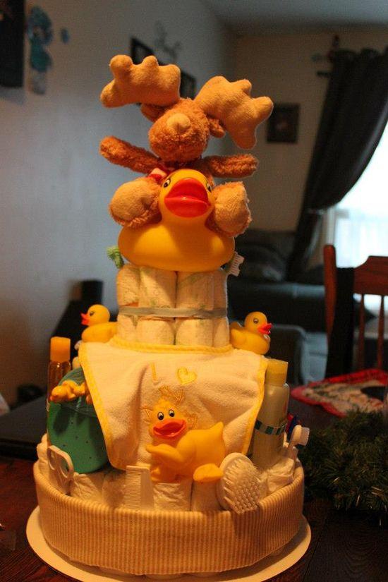 diaper cake baby boy