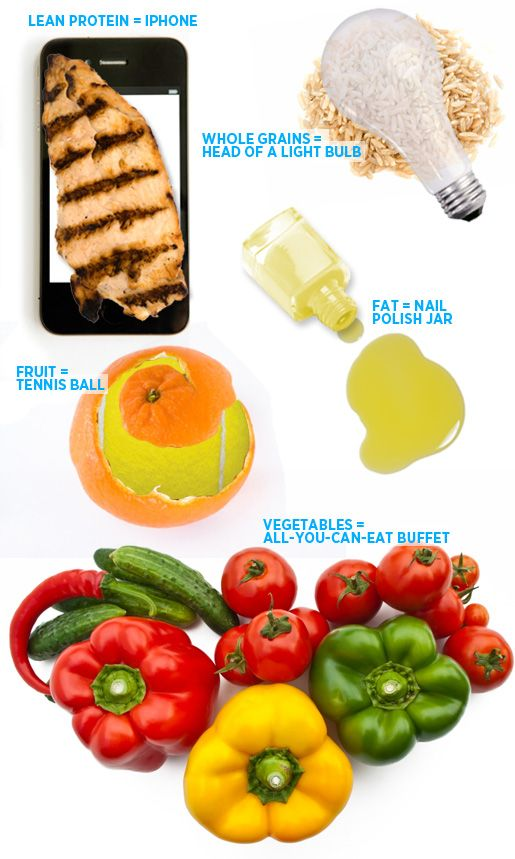 Measuring—and eating—proper food portions is such a simple way to eat more healthily. So whether you are dining out, cooking in, or just snacking on the go, here's your guide to measuring food portions. #health #healthy #healthyeating