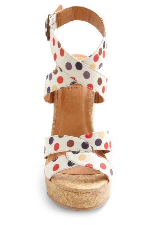 How much fun are these polka dot heels? They would be great with skinny cropped jeans or a navy dress!