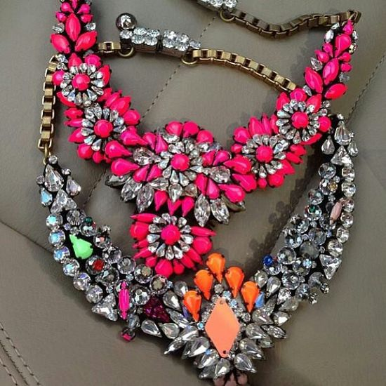 Colorful Bling Necklaces