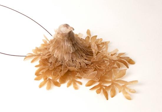 """Eun Mi Chun (exhibition """"Naturalienkabinette - Vorbilder aus der Natur""""  im Paläontologischen Museum München.)"""