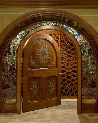 Doorway by Archer & Buchanan Architecture, LTD.    S Leopard Rd Residence   Berwyn, Pennsylvania, USA