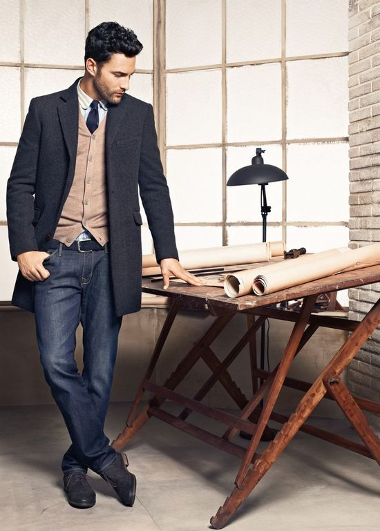 H.E. by Mango Fall / Winter 2012 Menswear Lookbook