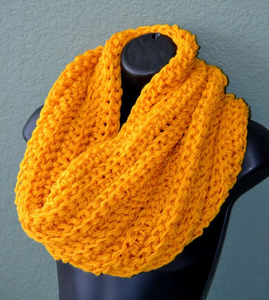 Hand Crocheted Chunky Neck Warmer. Unisex Neck by Africancrab, $22.00
