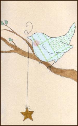 Bird & star