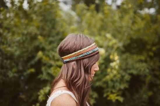 Multi Strand Headband Tutorial - 13 Fun DIY Fashion Projects