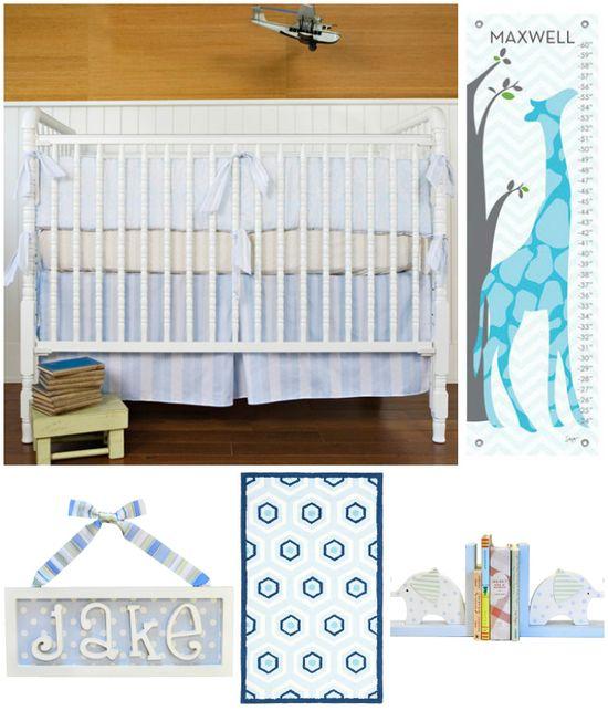 Baby Boy Nursery Decor Inspiration