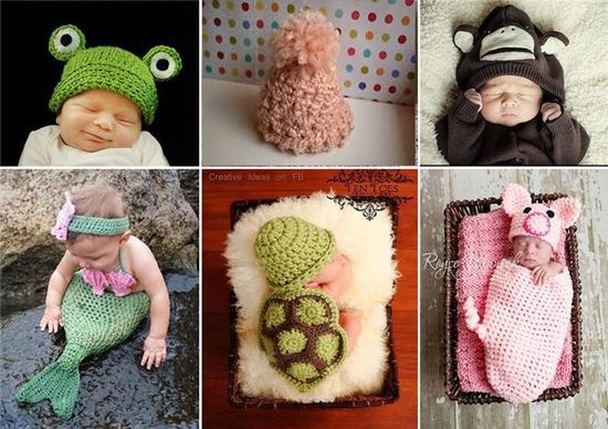 Diply.com - Adorable Crochet Baby Outfits