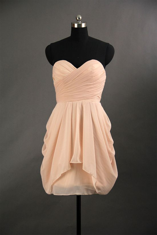 cute for your bridesmaid dresses but change the color