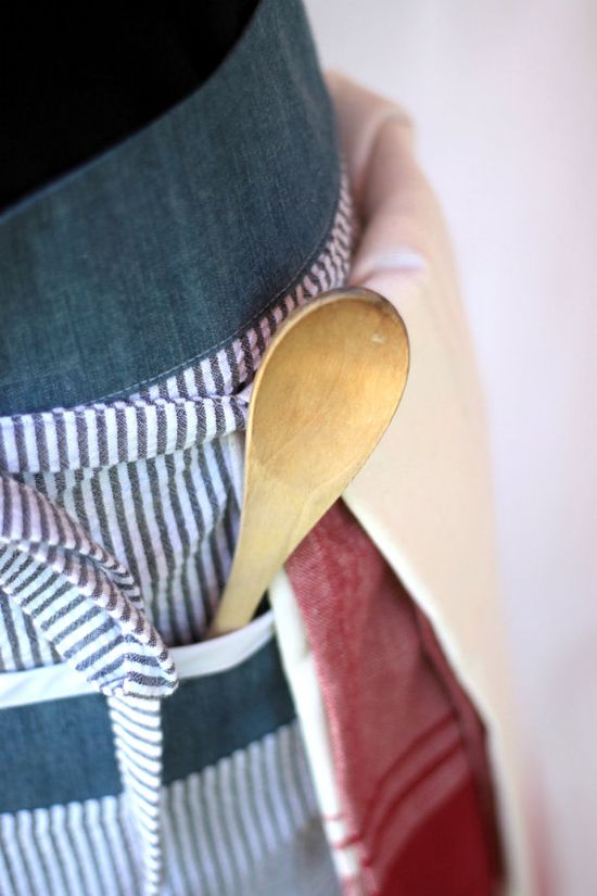 Apron cooking waist apron for men or women by akitschykitchen
