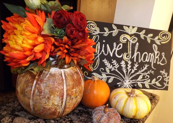 Holiday How-To: DIY Thanksgiving Table Settings