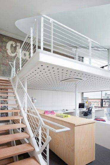 Moor Street Studio Offices by Clare Cousins Architects