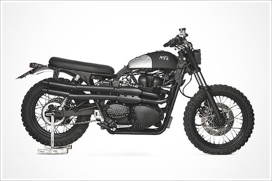 Triumph Scrambler 'A.R.D' - Anvil Motociclette - Pipeburn - Purveyors of Classic Motorcycles, Cafe Racers & Custom motorbikes