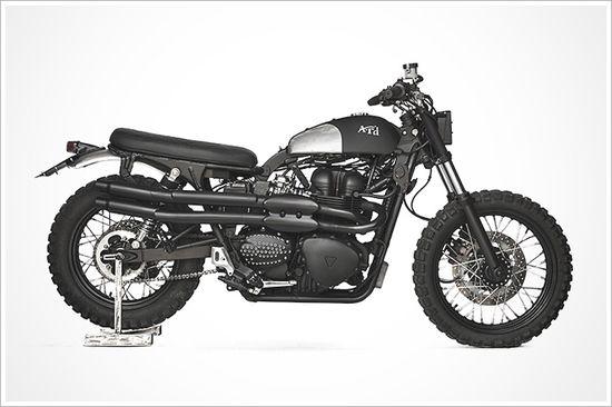 Triumph Scrambler 'A.R.D' - AnvilMotociclette - Pipeburn - Purveyors of Classic Motorcycles, Cafe Racers & Custom motorbikes