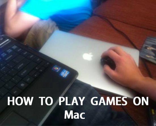 games on mac...